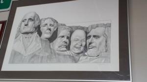 Mayor Pradel Mt Rushmore
